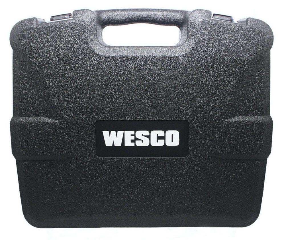 """Parafusadeira / Furadeira Impacto Wesco 1/2"""" 13mm 18v WS2937K2 + 02 baterias + carregador bivolt + maleta"""