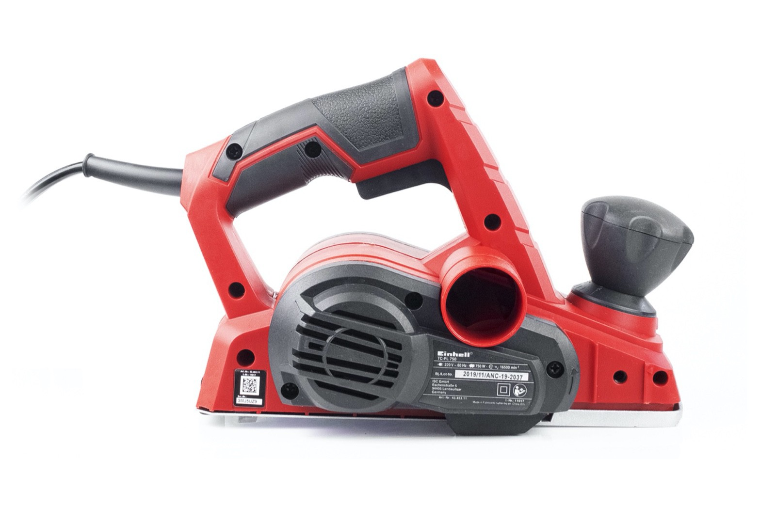 Plaina Eletrica Manual EINHELL 750W TC-PL 750 82mm