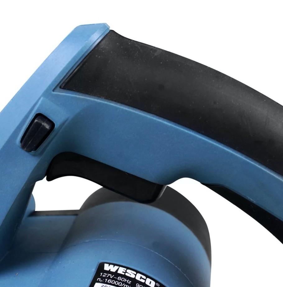 Plaina Eletrica Manual WESCO 900W WS5343 82mm