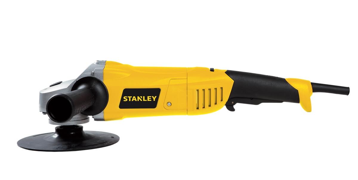 """Politriz Stanley 7"""" 1300w STGP1318K com maleta"""