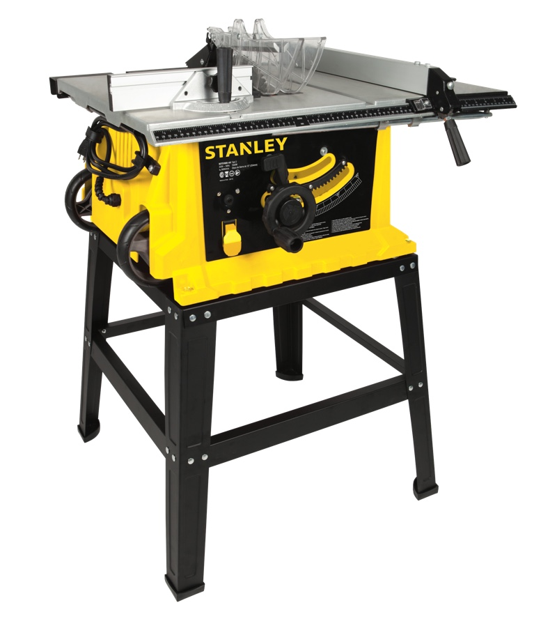 """Serra Circular Bancada Stanley 10"""" 1800w STST1825"""