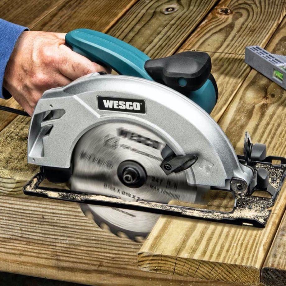 Serra Circular 7.1/4 185mm WESCO 1500w WS3441