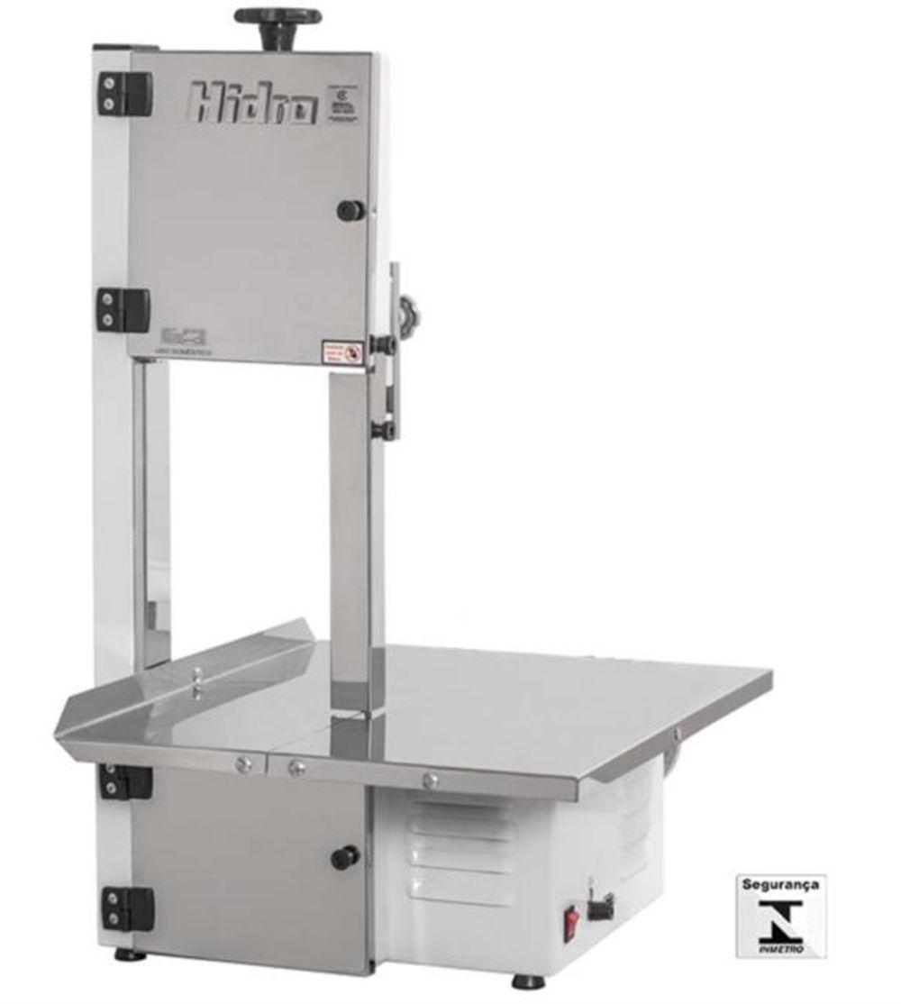 Serra Fita Bancada Carne 1/2CV Hidro HB 800 bivolt