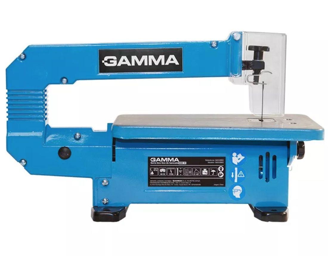 Serra Tico-Tico Bancada Gamma 85w G653