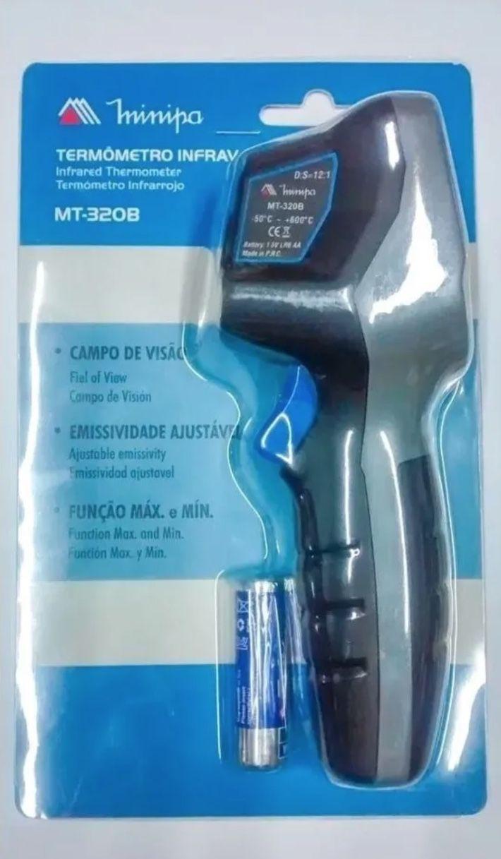 Termometro Digital Infravermelho Minipa MT-320B