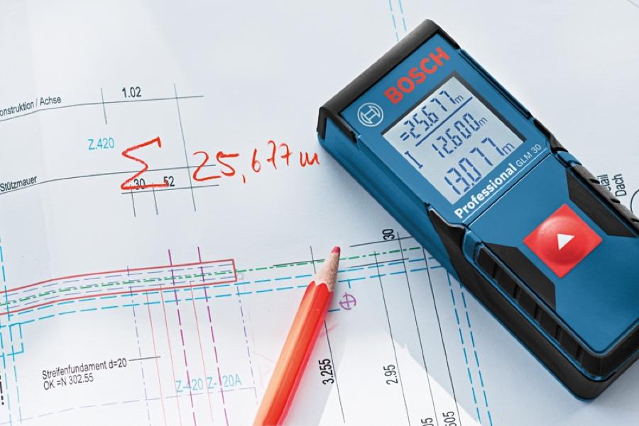 Trena à Laser Bosch GLM30