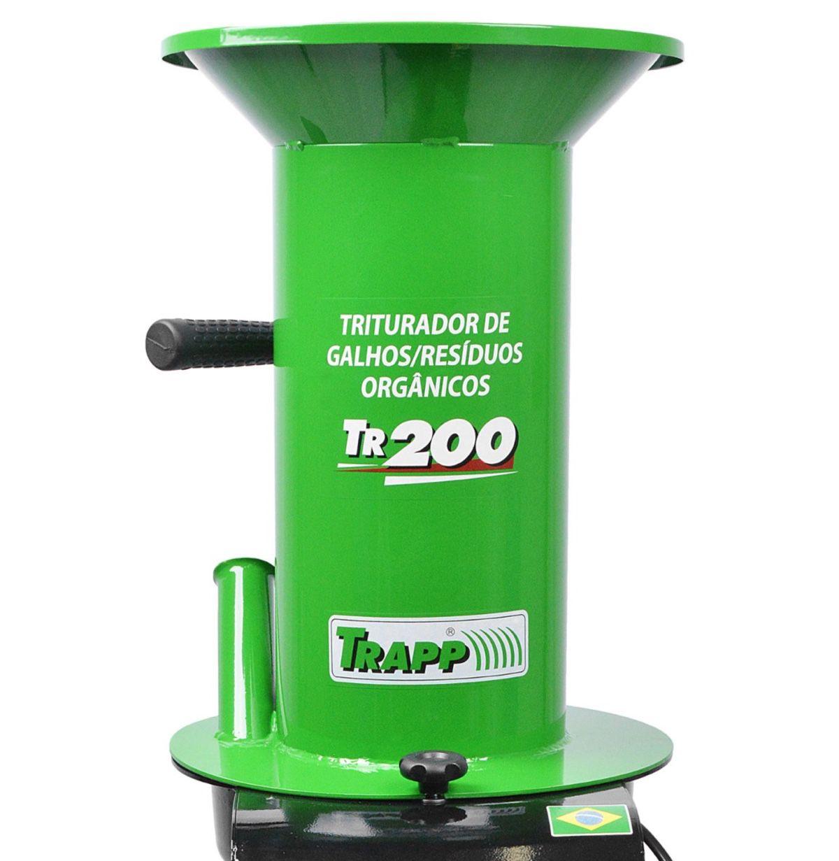 Triturador Resíduos Orgânicos Trapp TR200 1,5Cv Monofásico
