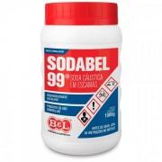 Soda Cáustica Escamas Sodabel 99% 1 Kg