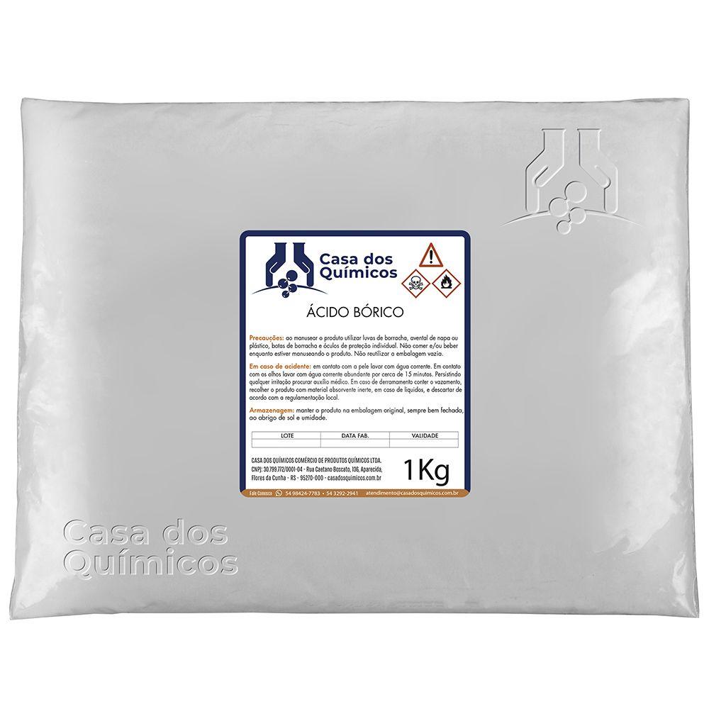 Ácido Bórico 25 Kg  - Casa dos Químicos