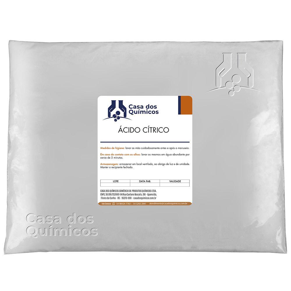 Ácido Cítrico Anidro Embalagem de 25 Kg