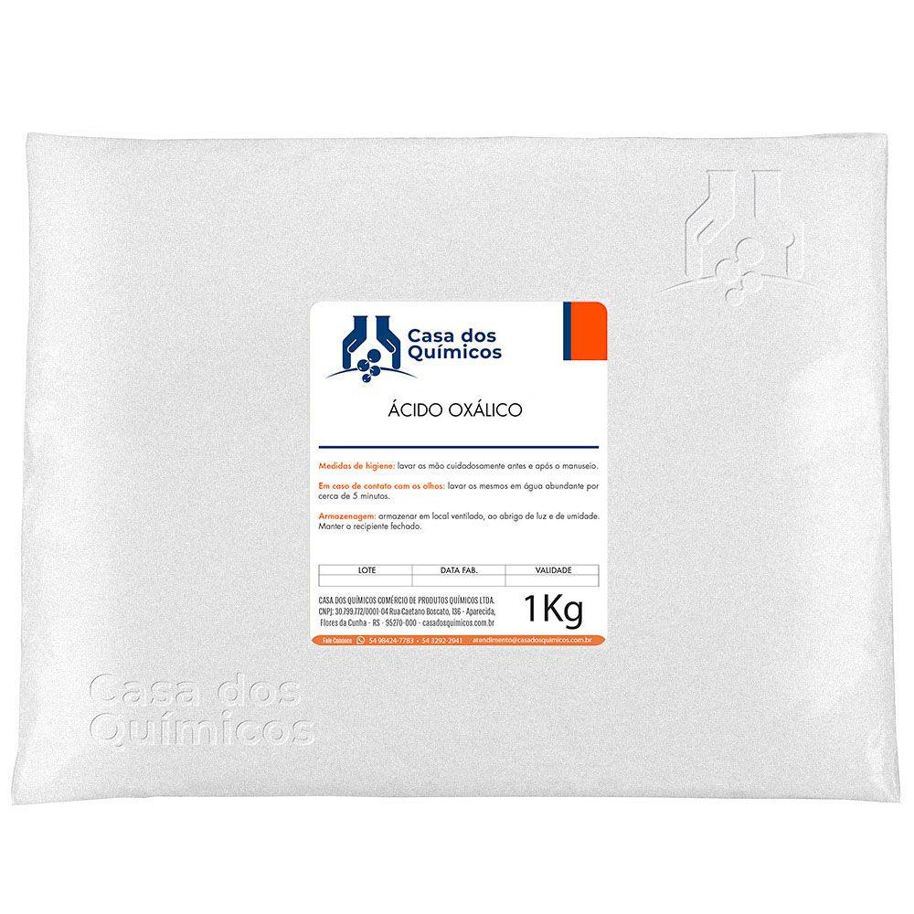 Ácido Oxálico Embalagem de 25 Kg