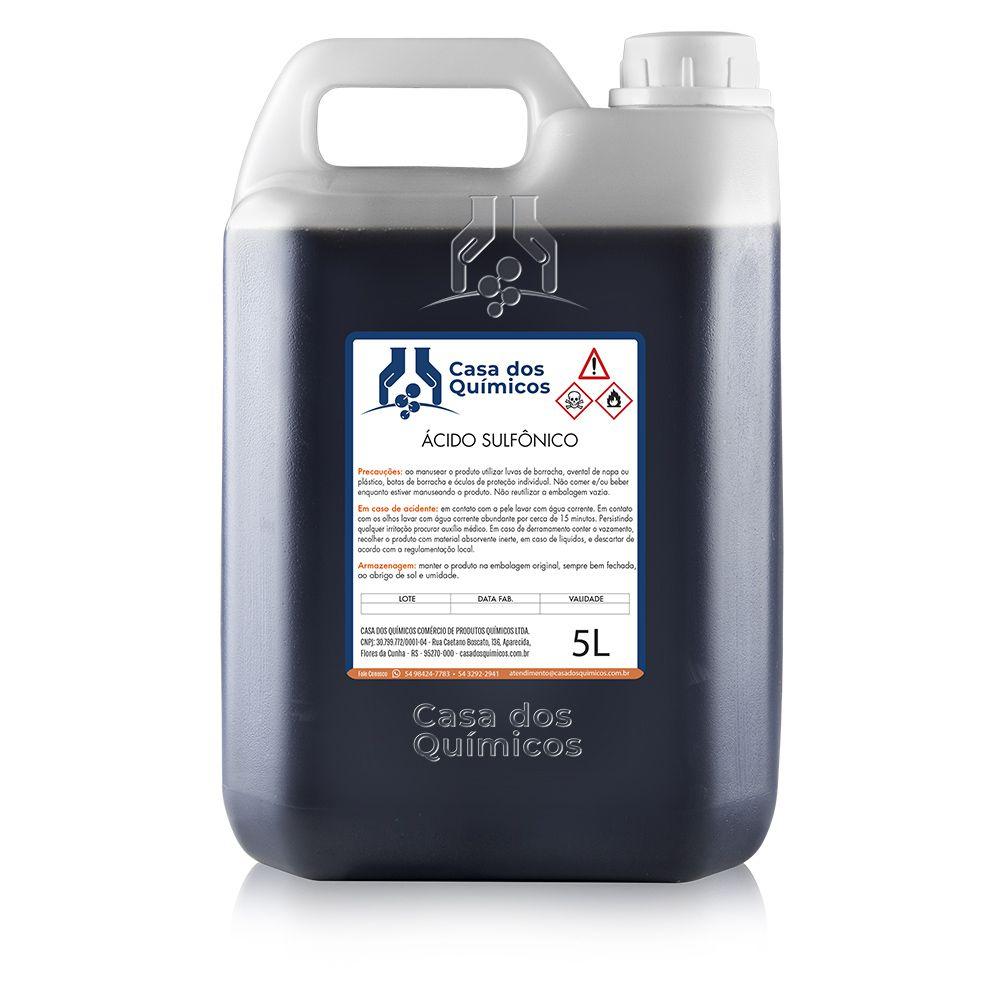 Ácido Sulfônico 90% 5000 ml  - Casa dos Químicos