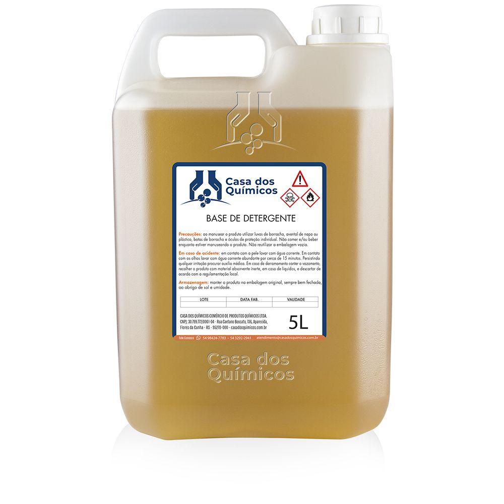 Base para Detergente/ Sabão Líquido 5000 ml  - Casa dos Químicos
