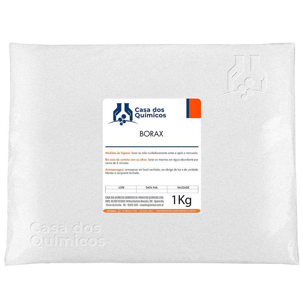 Bórax - Borato de Sódio 1 Kg  - Casa dos Químicos