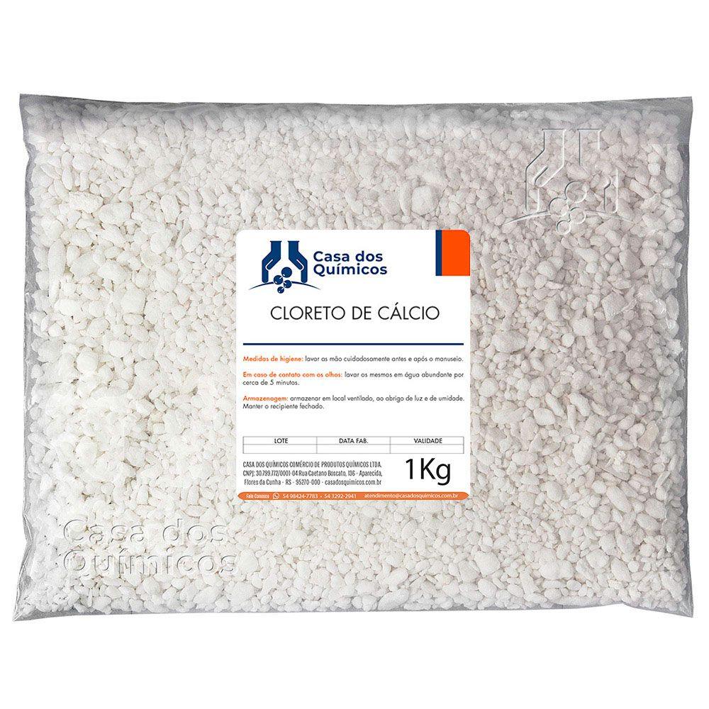 Cloreto de Cálcio Escamas 25 Kg  - Casa dos Químicos
