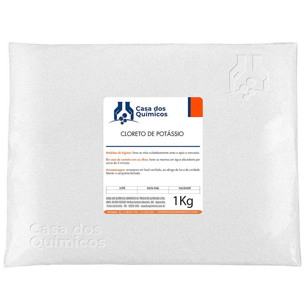 Cloreto de Potássio Embalagem de 25 Kg  - Casa dos Químicos