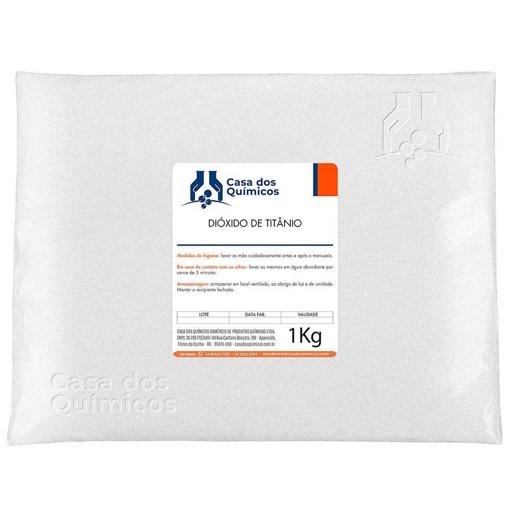 Dióxido de Titânio Embalagem de 25 Kg
