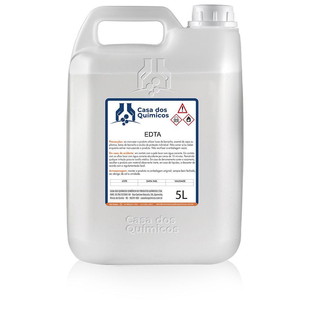 EDTA 5000 ml  - Casa dos Químicos