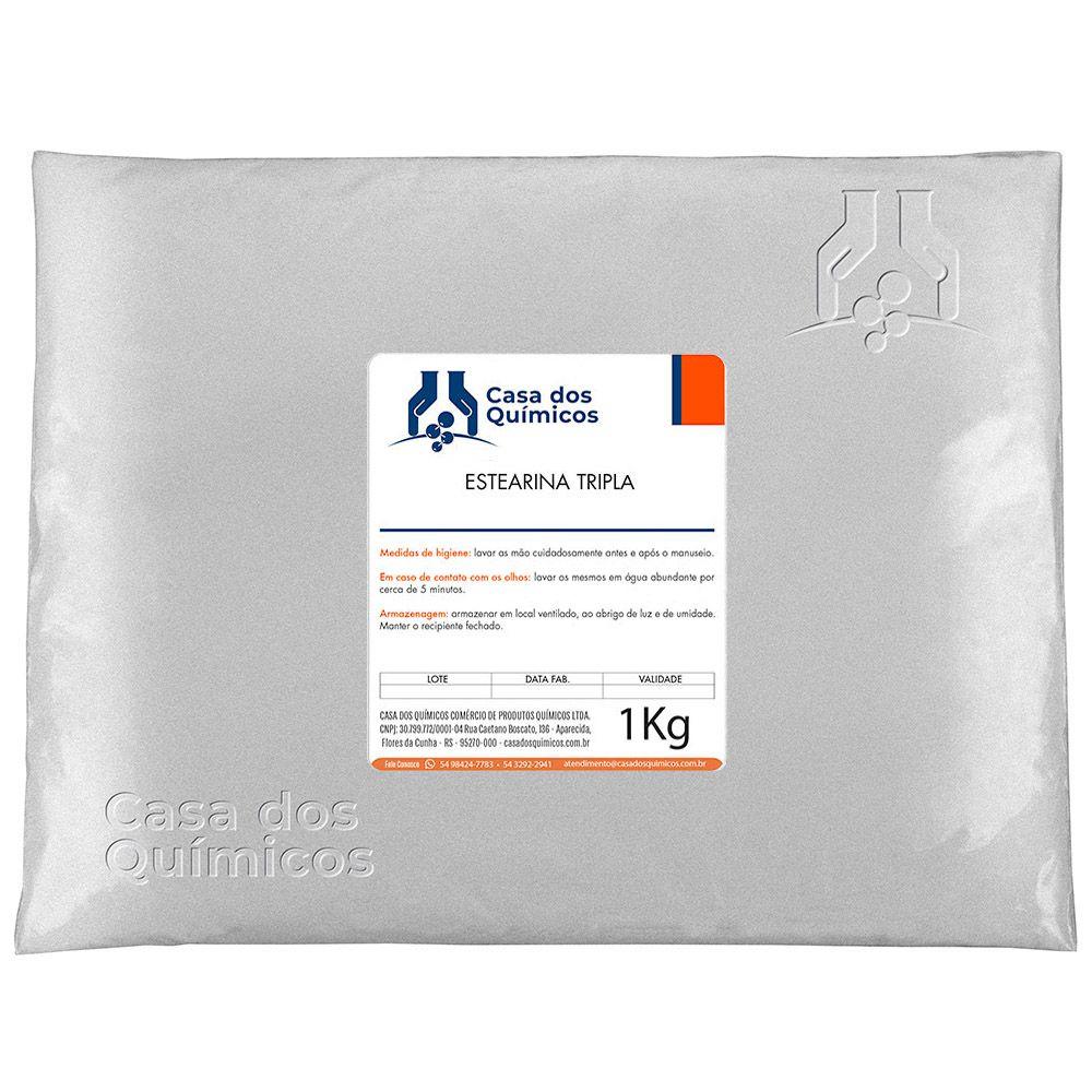 Estearina Tripla - Ácido Esteárico 1 Kg