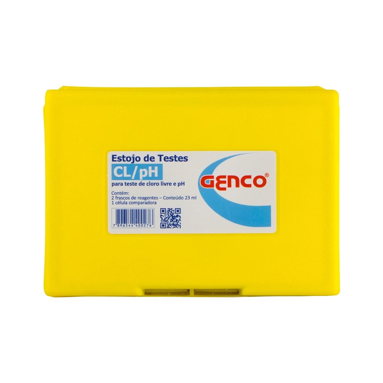 Estojo de Testes e Análises Cl/pH (Cloro e pH) Genco  - Casa dos Químicos