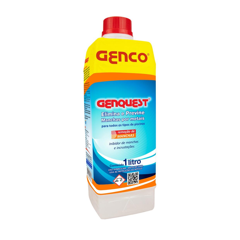 Genquest Inibidor de Manchas e Incrustações Genco 1 Litro
