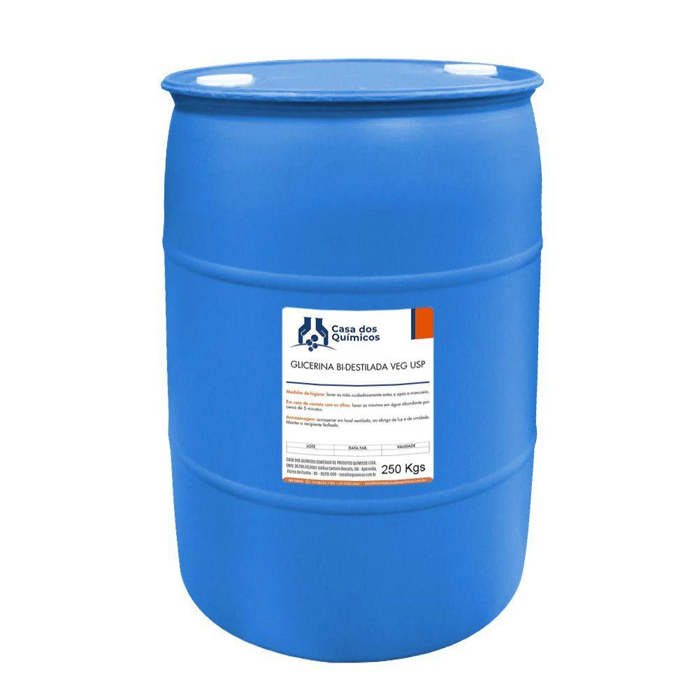 Glicerina Bi-Destilada Vegetal USP 250 Kg