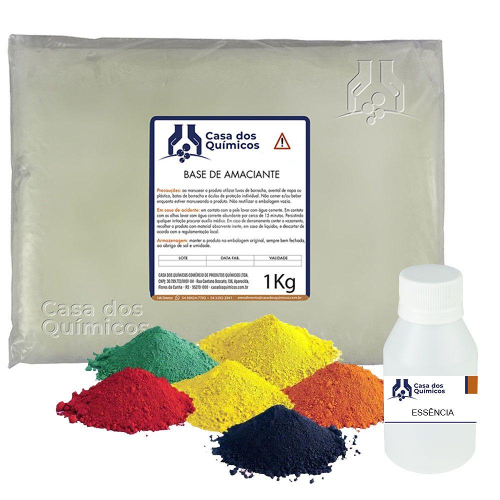 Kit Amaciante - Faz 100 Litros  - Casa dos Químicos