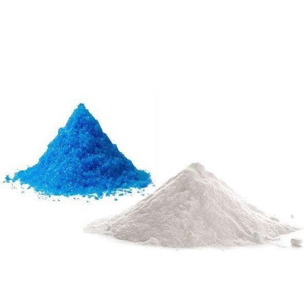 Kit Calda Bordalesa - Sulfato de Cobre 1 Kg + Cal Hidratada 1 Kg  - Casa dos Químicos