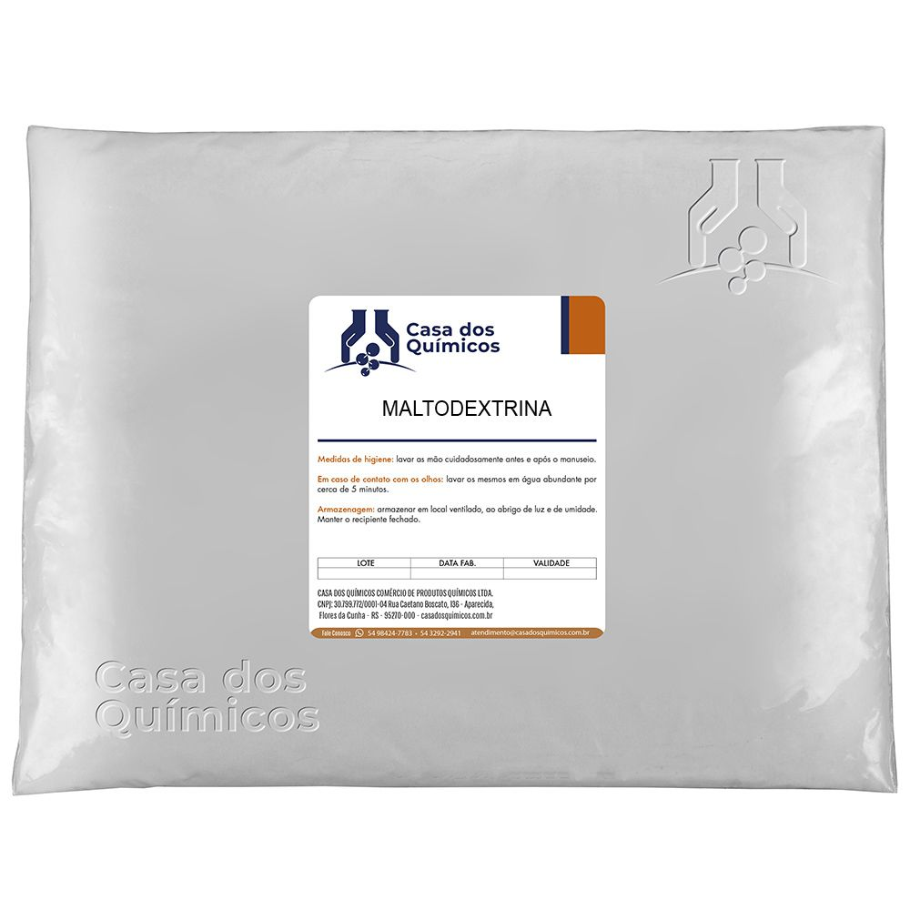 Maltodextrina Embalagem de 25 Kg