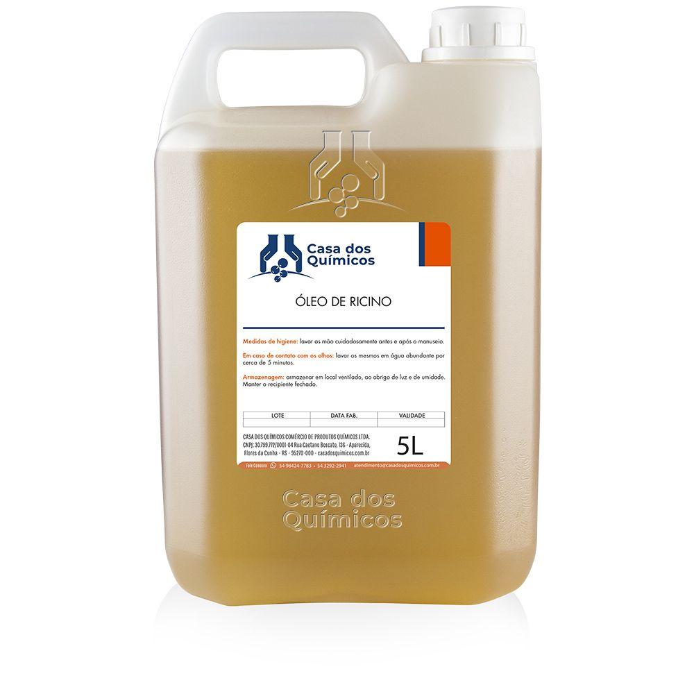 Óleo de Rícino 5000 ml  - Casa dos Químicos