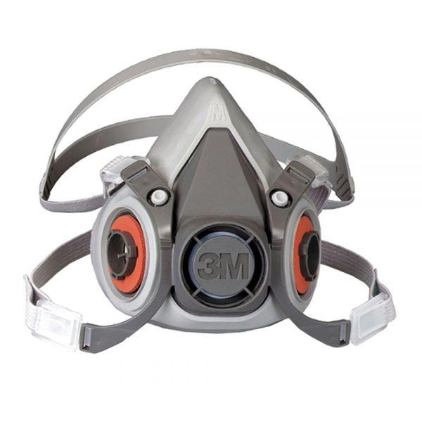 Respirador Reutilizável 3m Série 6200 Semi-facial CA 4115  - Casa dos Químicos