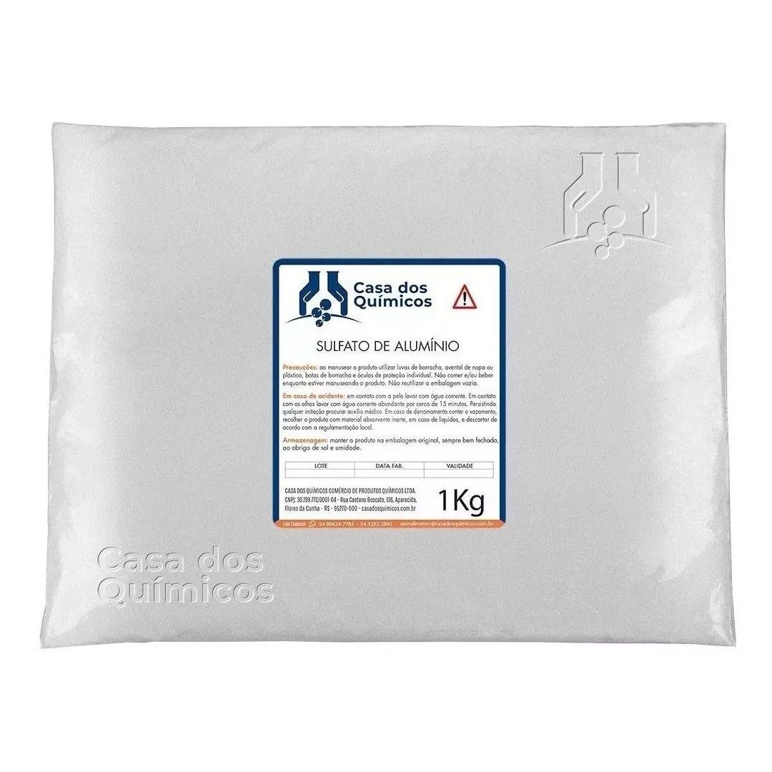 Sulfato de Alumínio 1 Kg  - Casa dos Químicos
