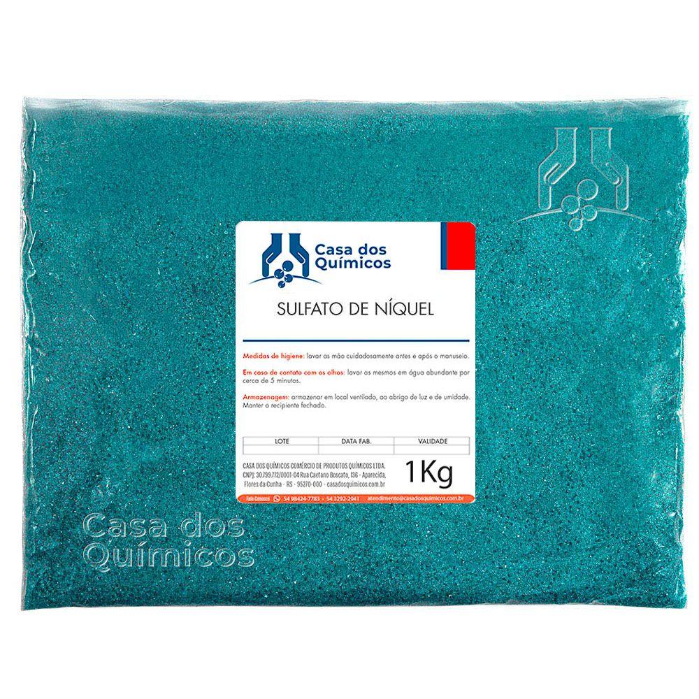Sulfato de Níquel 25 Kg  - Casa dos Químicos