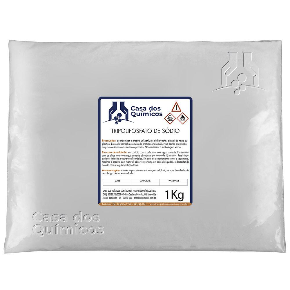 Tripolifosfato de Sódio 1 Kg  - Casa dos Químicos