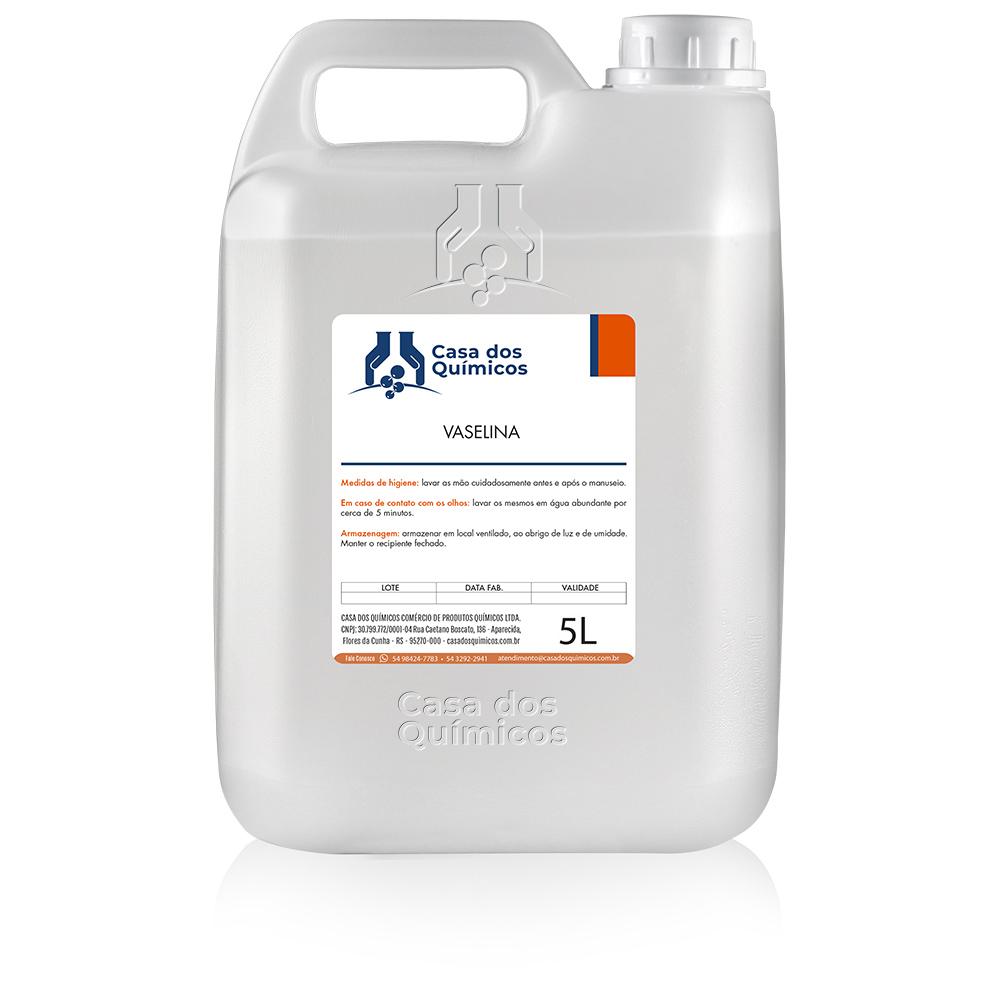 Vaselina Líquida Farmacêutica 5000 ml  - Casa dos Químicos
