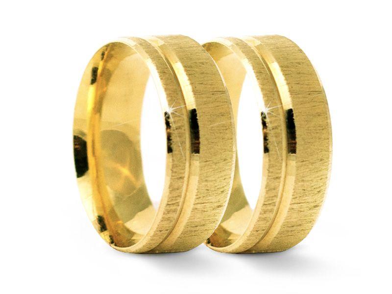 Alianças de Casamento ROYALE em Ouro 18k com 16 Gramas o Par. Image  Gallery. Image Footer Gallery 4ac319db90