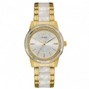 Relógio Guess  92592LPGDDF2 Feminino Dourado/Branco