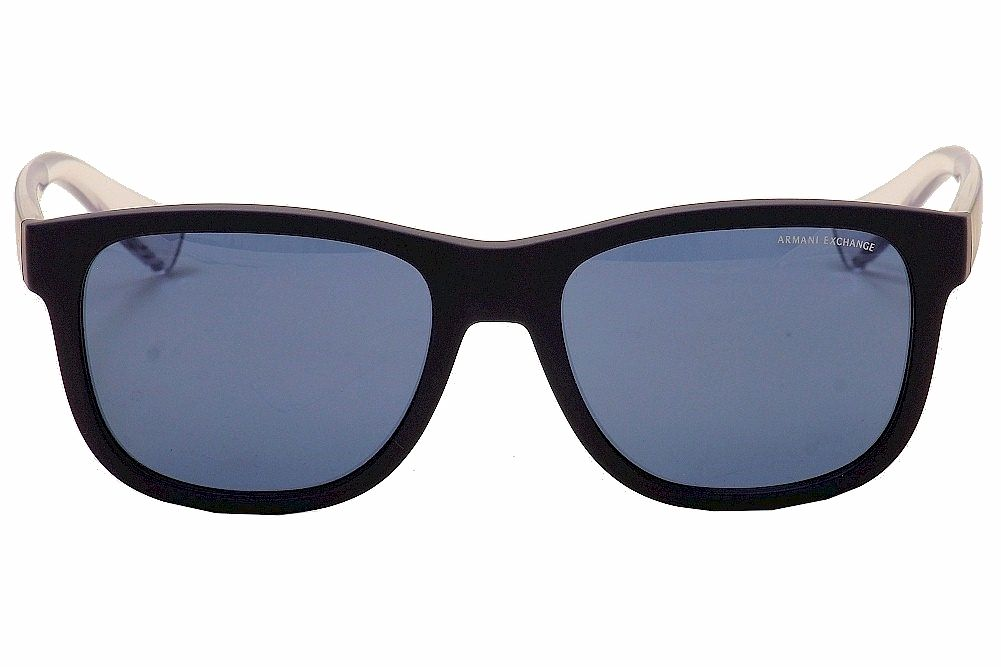 Armani Exchange AX4054S - Azul Fosco / Transparente  815780 55 - 18 140 3N