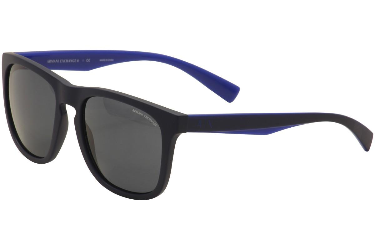Armani Exchange AX 4058SL - Azul / Fosco - 819887 55 - 19 140 3N