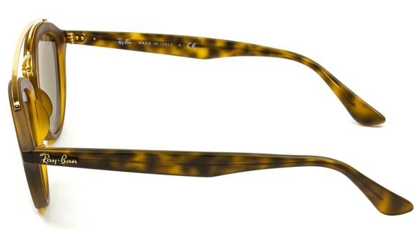 RAY-BAN Gatsby  RB4257- Tartaruga Fosco - Dourado/Espelhado - 6092/5A 53/19 LARGE 3N