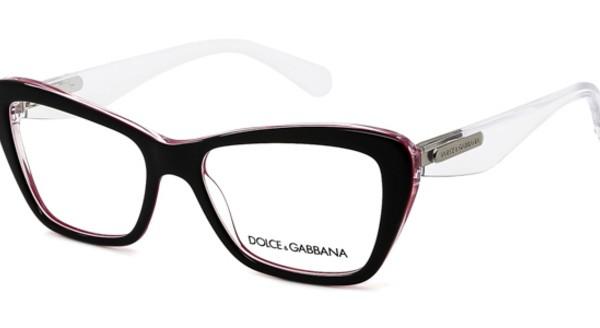 DOLCE&GABBANA DG 3194 - Preto/Rosa/Transparente - 2794 54-16 140