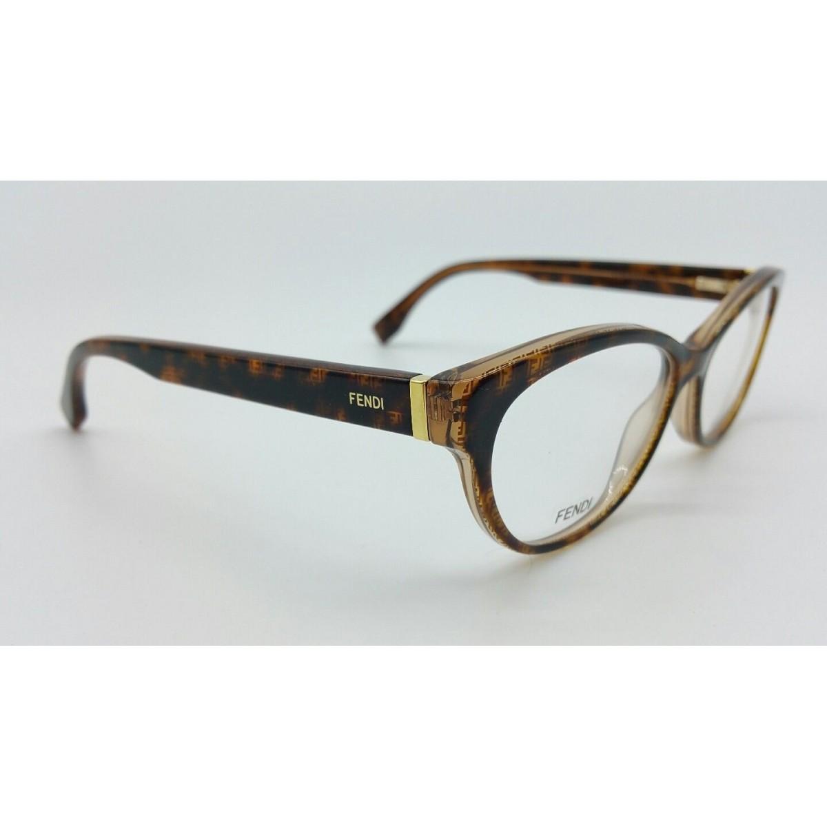 FENDI FF0109 - Tartaruga/Transparente - 7PM 54-15 140