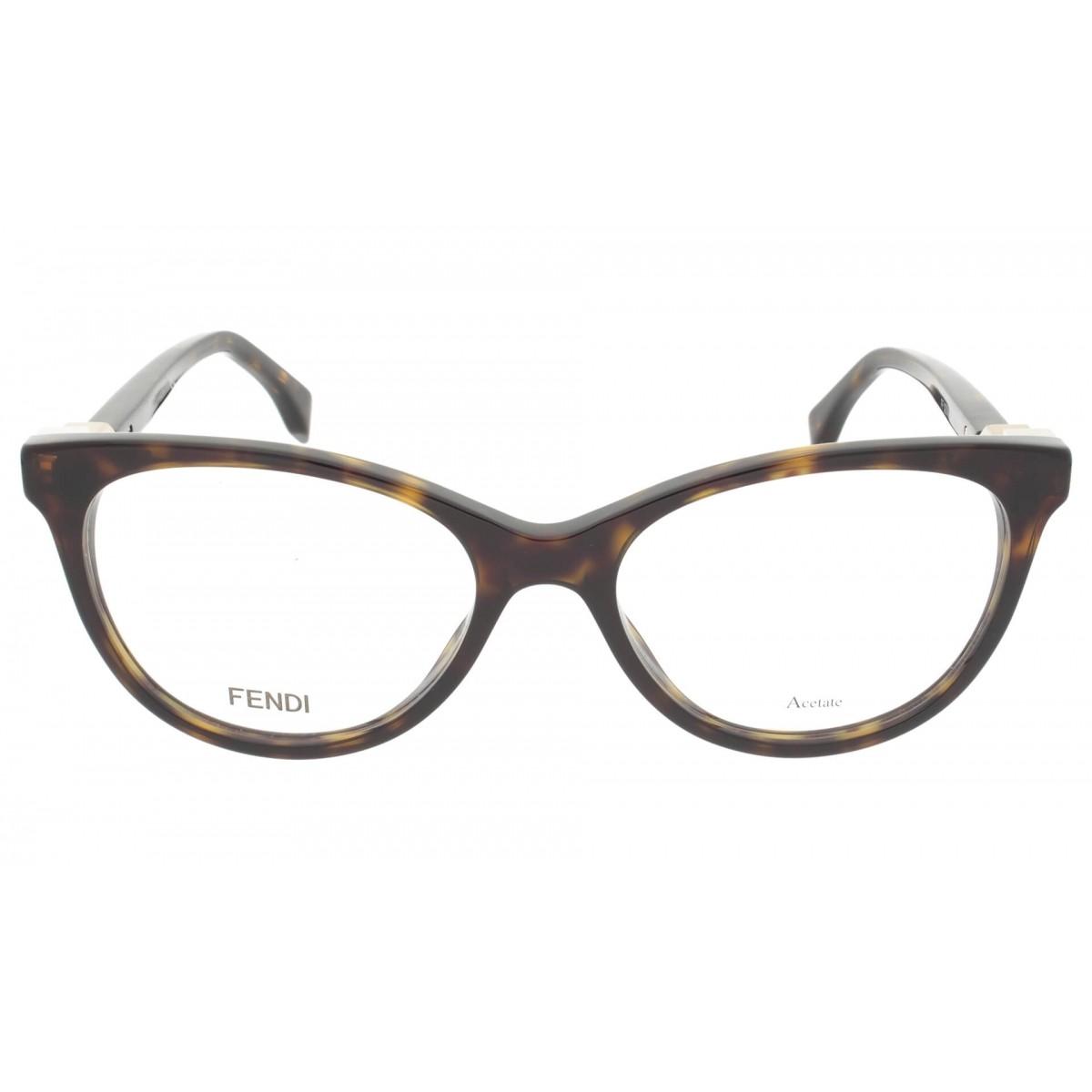 FENDI FF0201 - Tartaruga/Dourado - 086 52-17 140