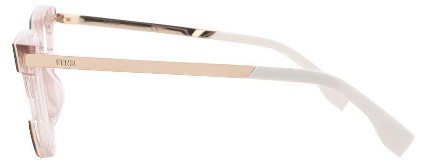 FENDI FF 0115 - Tartaruga/ Branco  - MUV 48-20 140