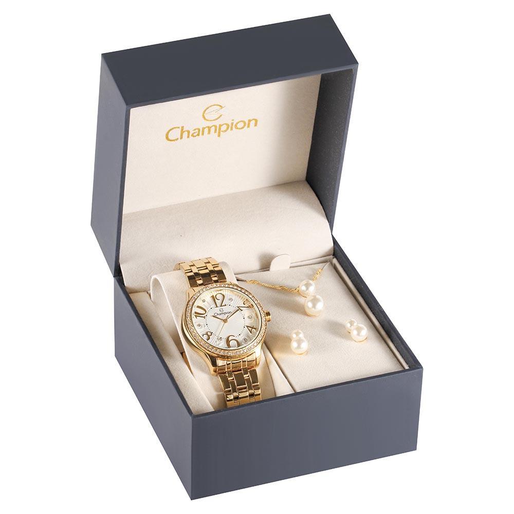 Kit Relógio Champion CN29605W
