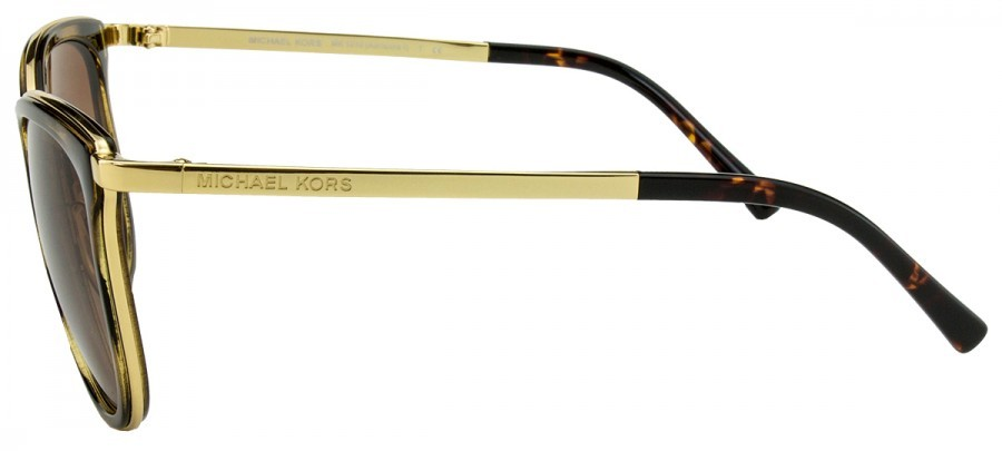 MICHAEL KORS MK1010 - Tartaruga/Dourado - 110113 - 54-20 135 2N