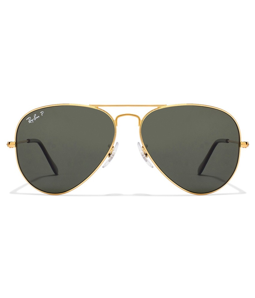 RAY-BAN Aviator Large Metal Polarizado RB3025 - Dourado/G-15  - 001/58 62-14 140 3P