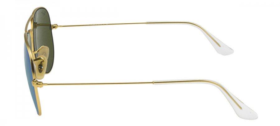 RAY-BAN Aviator  - RB3025 - Espelhado - Dourado/Azul - 112-17 58/14 3N