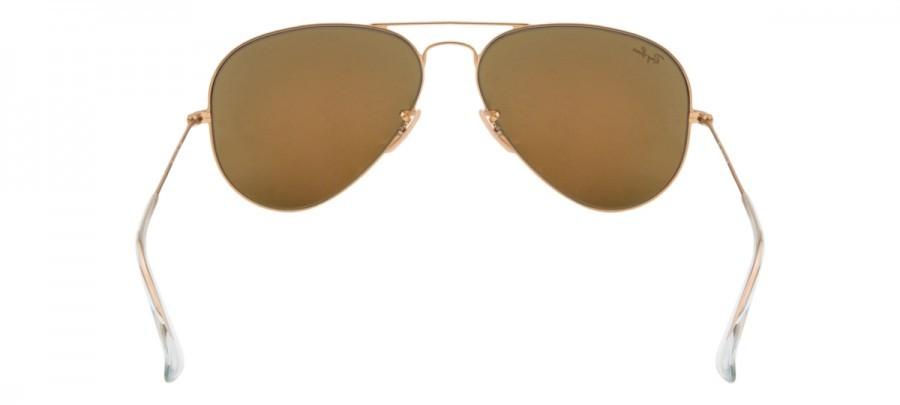 RAY-BAN Aviator  - RB3025 - Espelhado - Dourado/Laranja - 112-69 58/14 2N