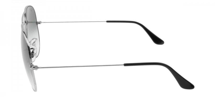 RAY-BAN Aviator  - RB3025 - Prata - Cinza/Dêgrade - 003-32 58/14 2N